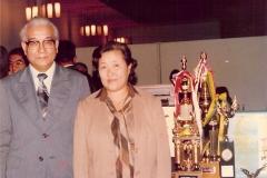 Masahiko Maruyama e esposa